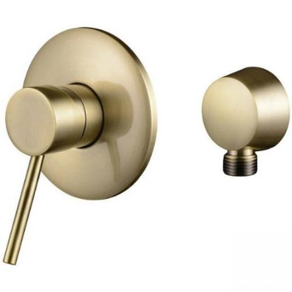 Смеситель для ванной для скрытого монтажа KAISER Merkur Ø35 Bronze