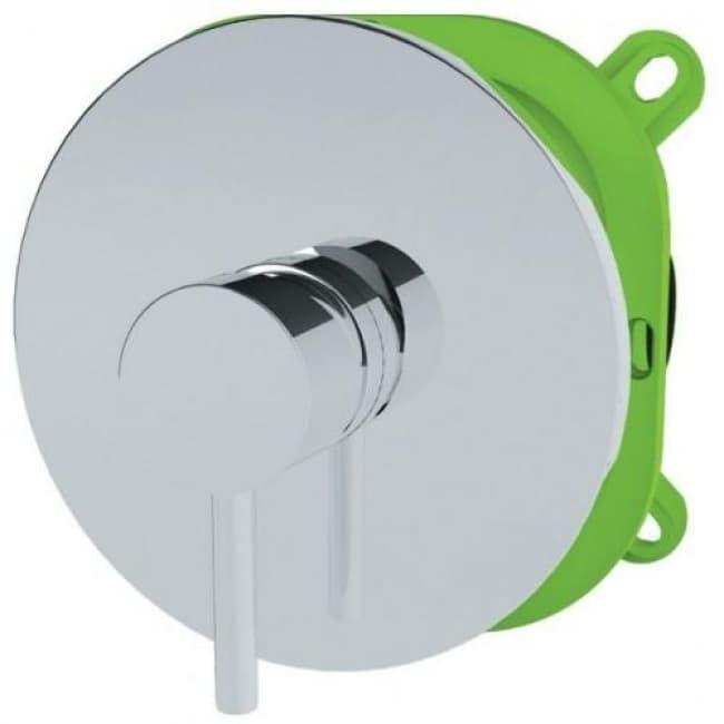 Смеситель для скрытого монтажа в ванную KAISER Merkur 26117. Стиль смесителя хай-тек.