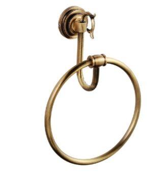 Держатель для полотенца кольцо Classic Retro Bronze R-3