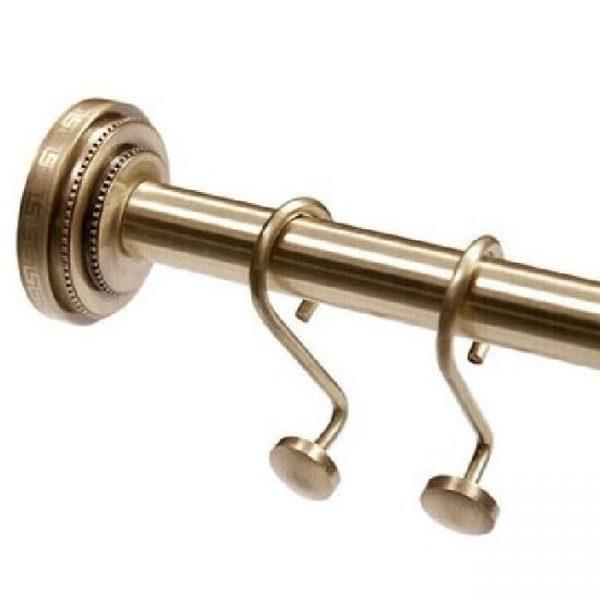 Карниз для шторки в ванную Classic Retro Bronze RВ-090-1 стационарное крепление