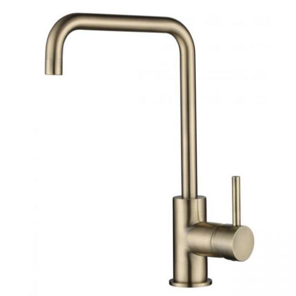 Смеситель для мойки кухни Г-излив 26844 KAISER Merkur боковой Ø35 Bronze