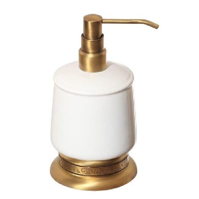 дозатор для мыла настольный Classic Retro Bronze R-17 новый