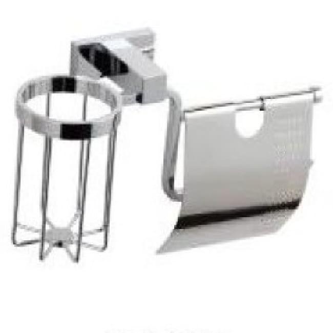Бумагодержатель для туалетной бумаги с освежителем Classic QUADRATE М003R
