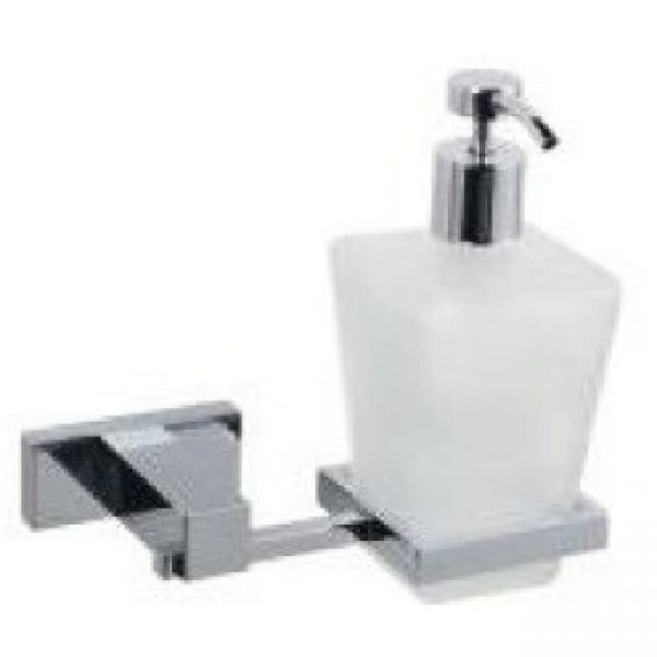 Дозатор к стене (стекло) Classic QUADRATE М-008