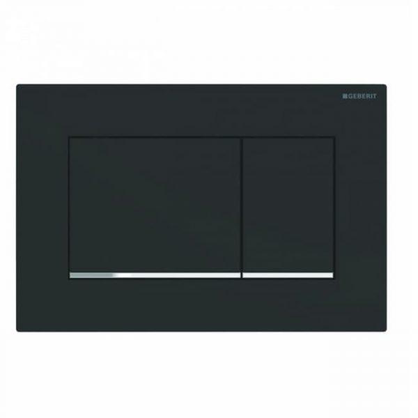 Кнопка для инсталляции для унитаза GEBERIT Sigma 30 цвет черный