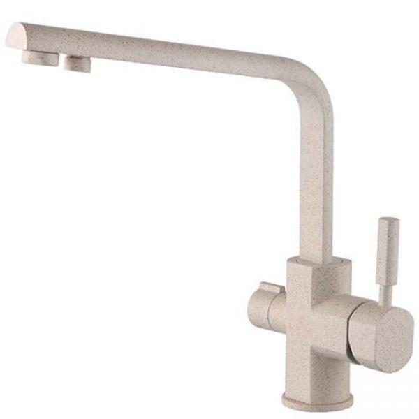 Смеситель однорычажный для кухонной мойки боковой под фильтр Kaiser Decor 40144-7 Send Ø40