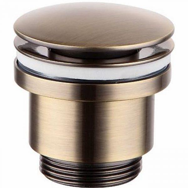 Донный клапан LM8500B универсальный Click-Clack бронза