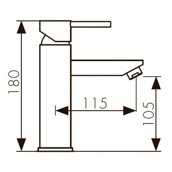 Смеситель KAISER Sensor 38311 тюльпан (Electric power) сенсор-рукоятка схема