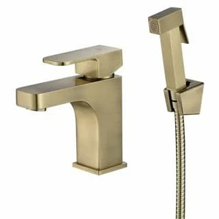 Смеситель с гигиеническим душем Kaiser Sonat бронза 34088-1