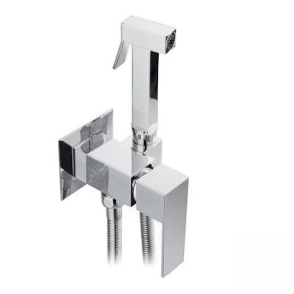Смеситель KAISER Sonat 34777 встроенный под биде с гигиеническим душем