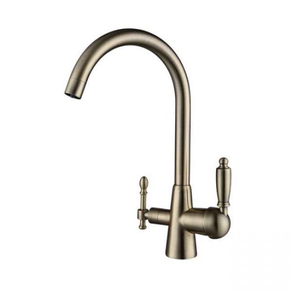 Смеситель для кухни бронзовый KAISER Vincent под фильтр 31744-3