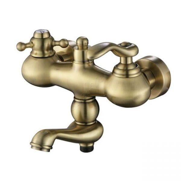 Смеситель Kaiser Logo 47722-1Br бронза для ванны